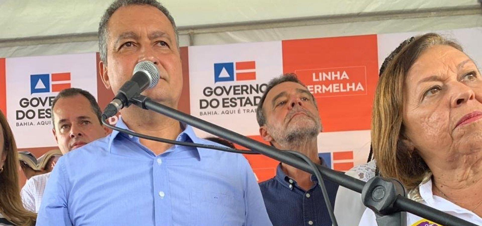 Rui diz que governo federal não honrou compromissos e deu 'calote' na Bahia