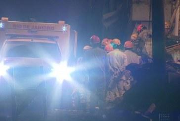 Sobe para 9 o número de mortos em desabamento no RJ; 15 estão desaparecidos