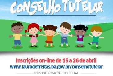 CMDCA de Lauro de Freitas abre inscrições para conselheiros tutelares