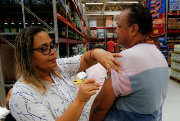 Mais de 50% do público alvo já foi imunizado contra o vírus H1N1 em Lauro de Freitas