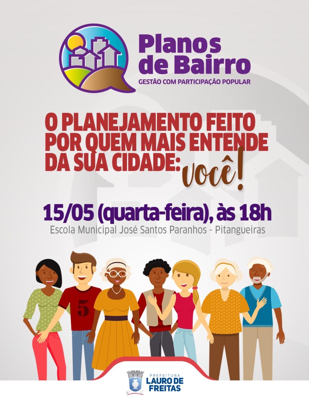 Prefeitura realiza Planos de Bairro em Pitangueiras nesta quarta-feira (15)