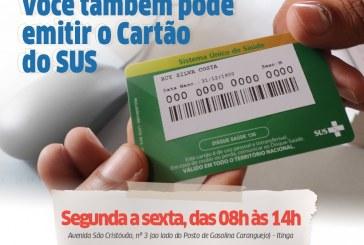 Prefeitura passa a emitir Cartão SUS na AR de Itinga