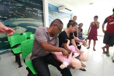 Servidores da Central de Regulação de Saúde aprendem técnicas de primeiros socorros