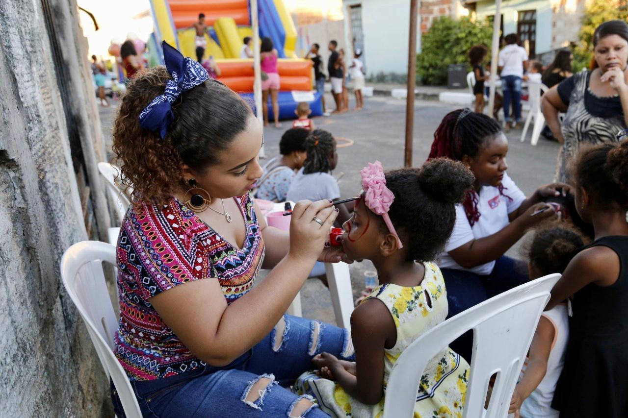 Cidade do Lazer leva muita alegria para o Jardim Pouso Alegre