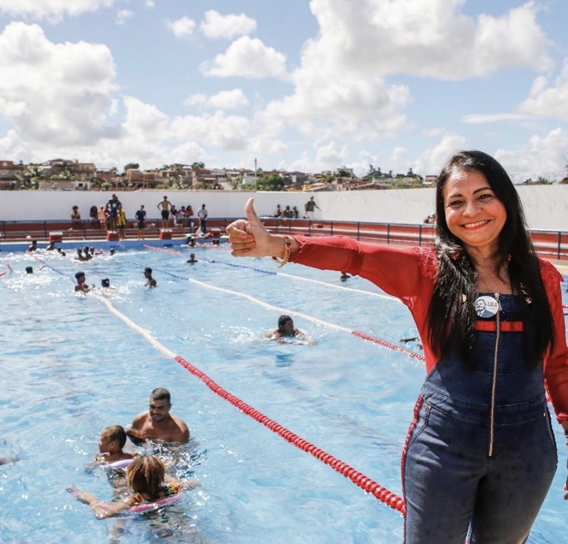 Moema inaugura piscina semiolímpica com foco na inclusão social