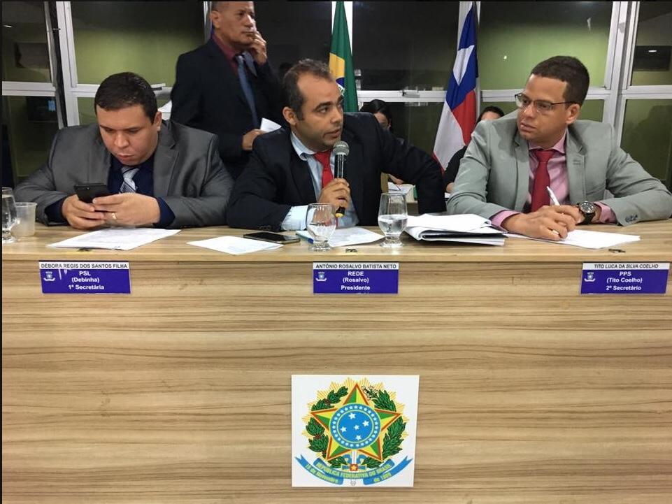Vereador Rosalvo apresenta PL que institui o Dia Municipal da Memória do Ipitanga