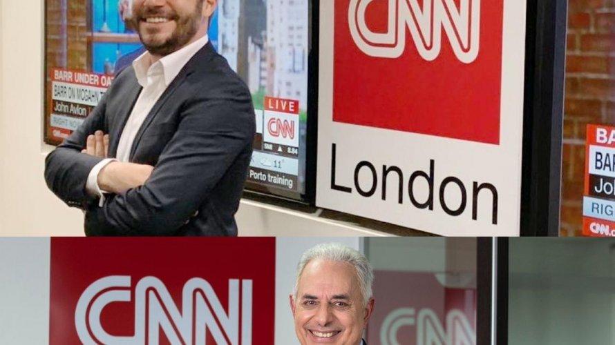 Evaristo Costa e William Waack são anunciados como âncoras de programas na CNN Brasil