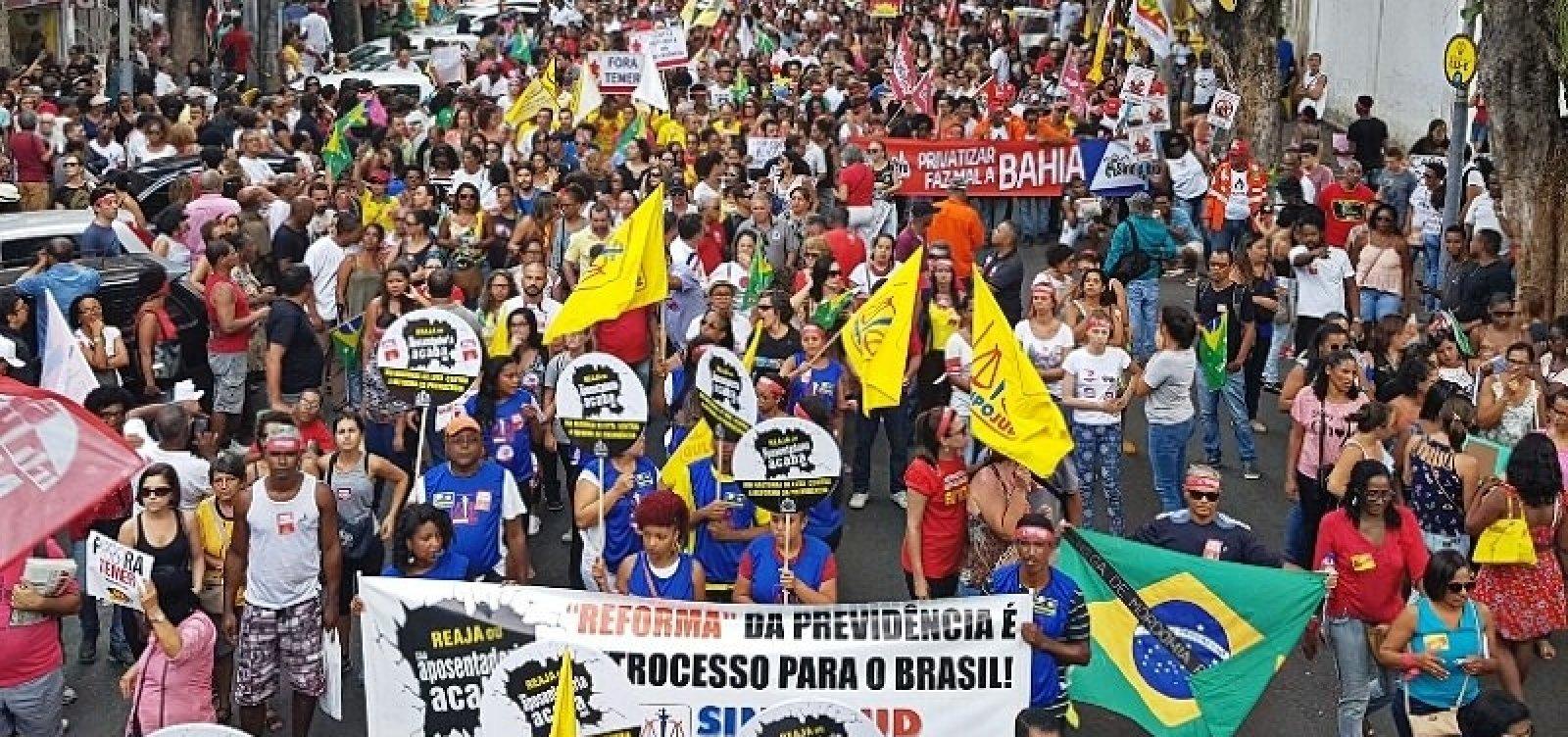 Veja as categorias que aderem à greve geral na Bahia