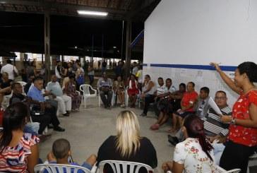 Moema anuncia implantação de Administração Regional em Vida Nova durante audiência do Planos de Bairros
