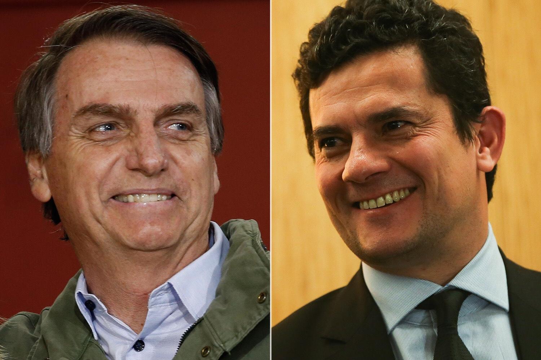 Bolsonaro vai se reunir com Moro para falar sobre vazamento de conversa