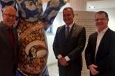 Com embaixador da Alemanha, Rui traça parcerias para o Consórcio Nordeste
