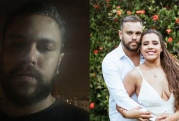 """""""Não existo mais, estou acabado"""", diz ex-noivo de blogueira morta que casou consigo mesma"""