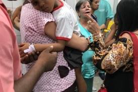 Vítimas de acidente na Escola Municipal Santa Júlia, em Lauro de Freitas, passam bem após atendimento