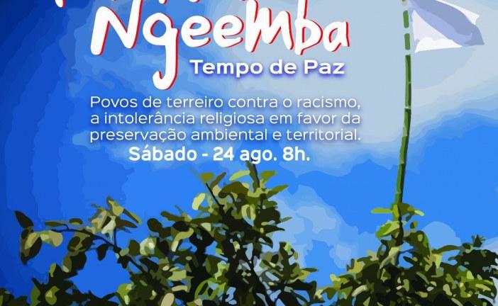 1ª Caminhada TEMBWA NGEEMBA – Tempo de Paz – acontece em Lauro de Freitas