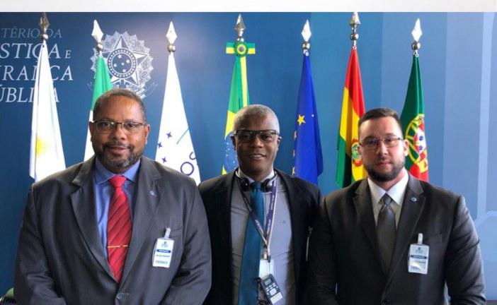Chefes da Agência Central de Inteligência Penitenciária da Bahia participam de encontro Internacional em Brasília com a presença do Ministro Sérgio Moro