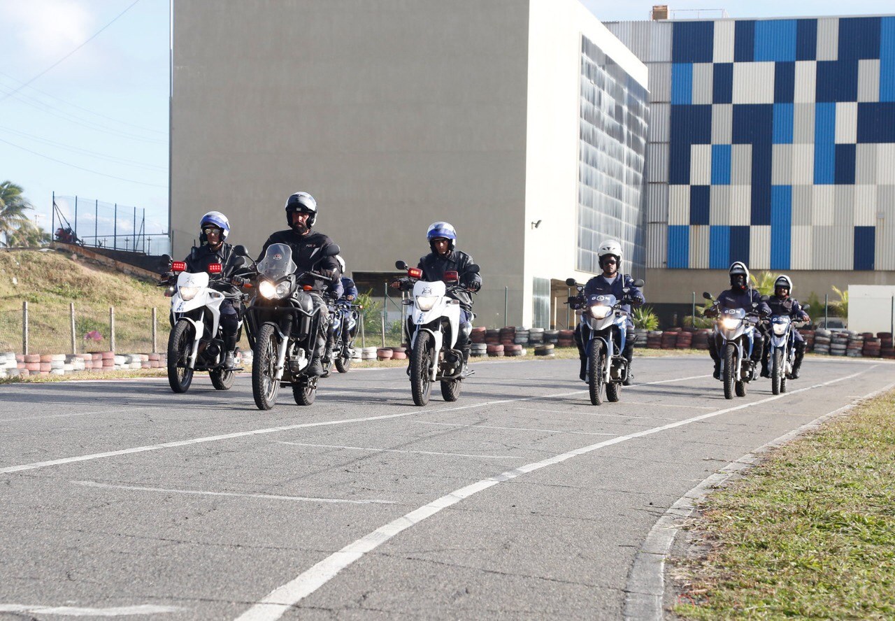 Guardas Municipais de Lauro de Freitas encerram capacitação em Motopatrulhamento