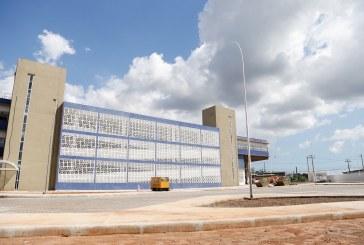 Policlínica Metro Recôncavo Norte será entregue em setembro; Moema visitou as obras