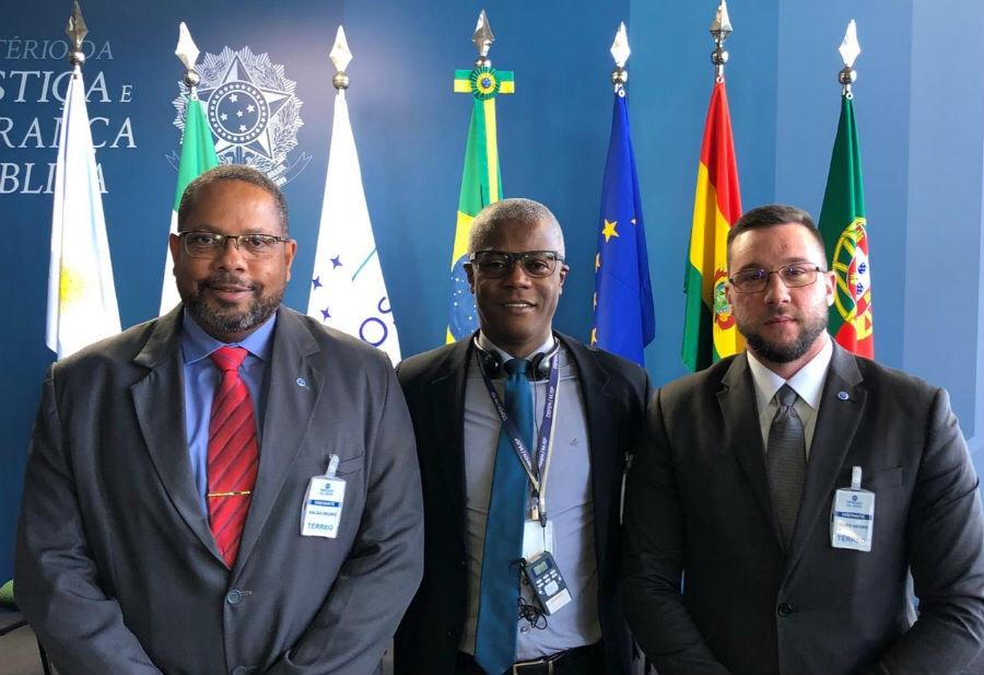 Chefes de inteligência penitenciária da Bahia participam de encontro em Brasília