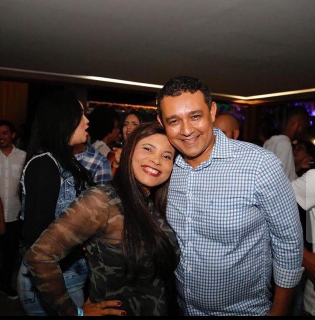 Liderança Zenny Machado parabeniza Alexandre Marques pelo seu aniversário
