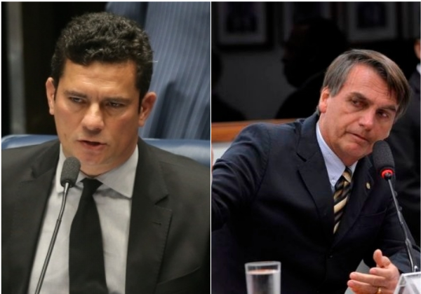 Aliados de Moro dizem que Bolsonaro age para enfraquecê-lo, afirma coluna