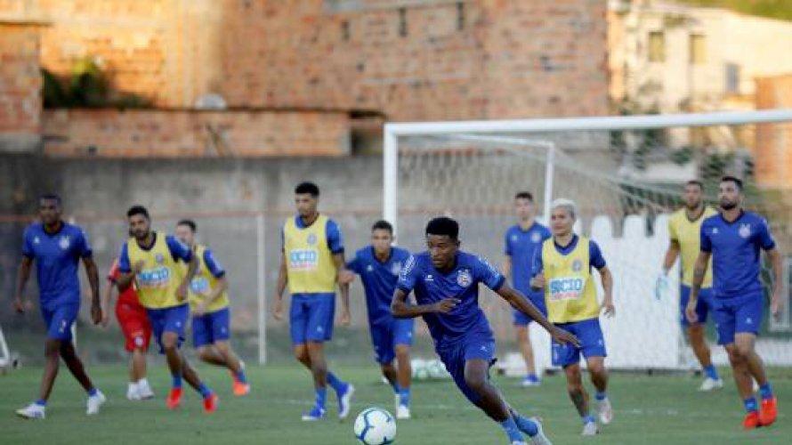 Bahia encerra preparação e está pronto para enfrentar o Palmeiras
