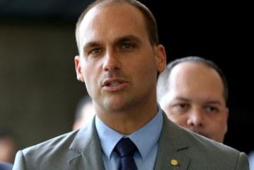 MPF entra com ação para impedir Eduardo Bolsonaro na embaixada dos EUA