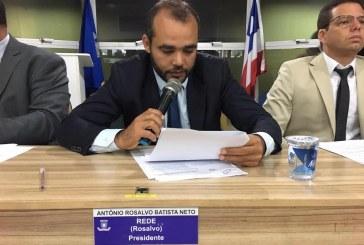 Vereador Antônio Rosalvo solicita criação do programa Bolsa Social em Lauro de Freitas