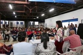 Durante Planos de Bairro, prefeita confirma pavimentação de ruas em Portão com investimento superior a 1 milhão