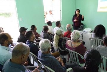 Agricultores de Lauro de Freitas recebem orientações sobre plantio orgânico
