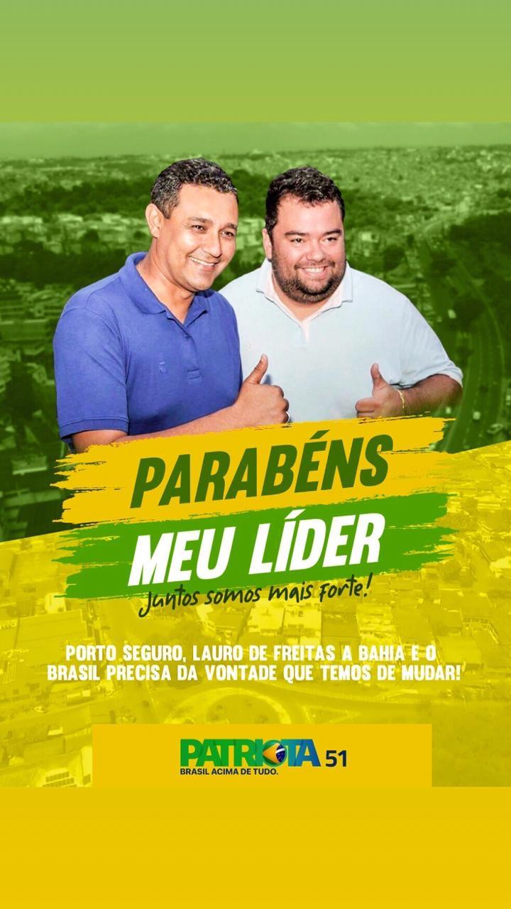 Empresário André Parternostro parabeniza o amigo Alexandre Marques pelo seu aniversário