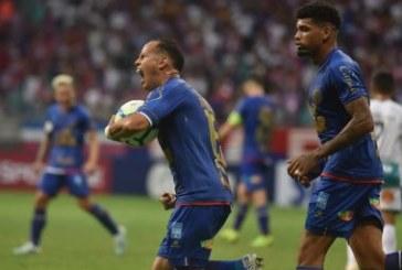 Bahia não passa de um empate com o Goiás na Fonte Nova