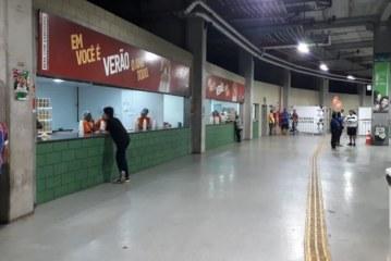 Arena Fonte Nova tem prejuízo de 85% na venda de cerveja após boicote de torcedores do Bahia