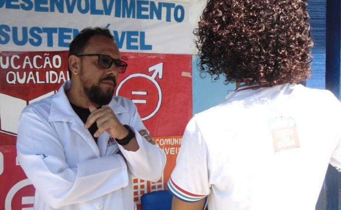 Saúde leva a alunos do Colégio Kleber Pacheco alertas sobre violência e automutilação