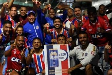 Bahia é o 6º time brasileiro em número de sócios-torcedores; Vitória é o 19º