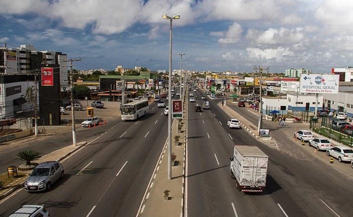 Estrada do Coco já foi liberada. Via estava obstruida por causa de acidente