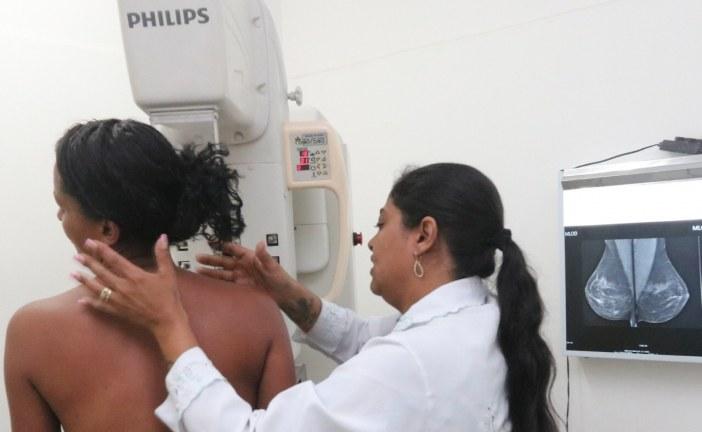 Em Lauro de Freitas, 88% das mulheres de 50 a 69 anos já fizeram mamografia este ano