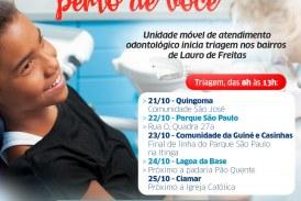 Projeto Mais Sorriso Perto de Você contempla novas localidades de Lauro de Freitas