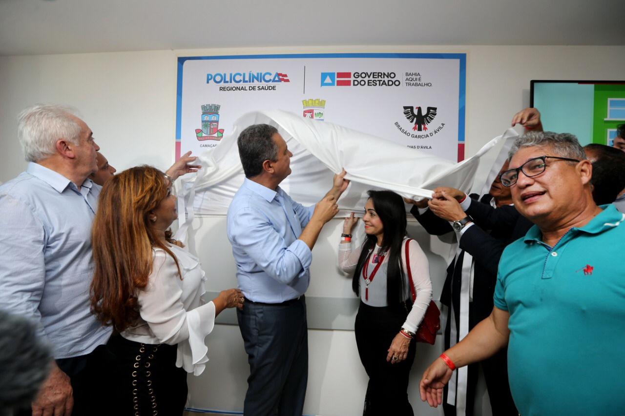 Rui entrega Policlínica Regional de Saúde em Simões Filho