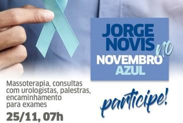 Hospital Jorge Novis encerra Novembro Azul com exames e consultas nesta segunda-feira (25)