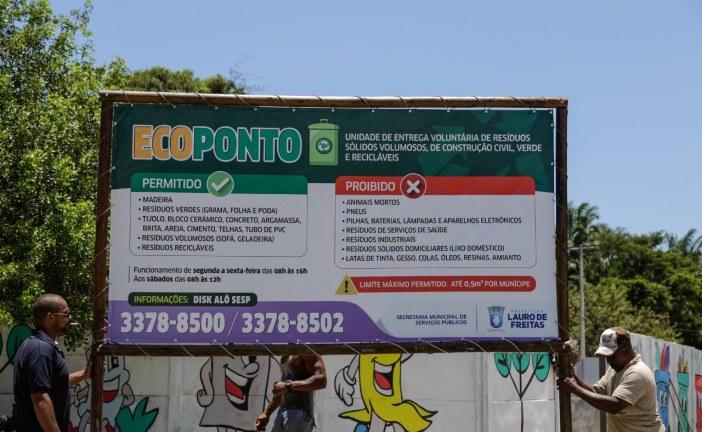 Lauro de Freitas ganhará seu primeiro Ecoponto