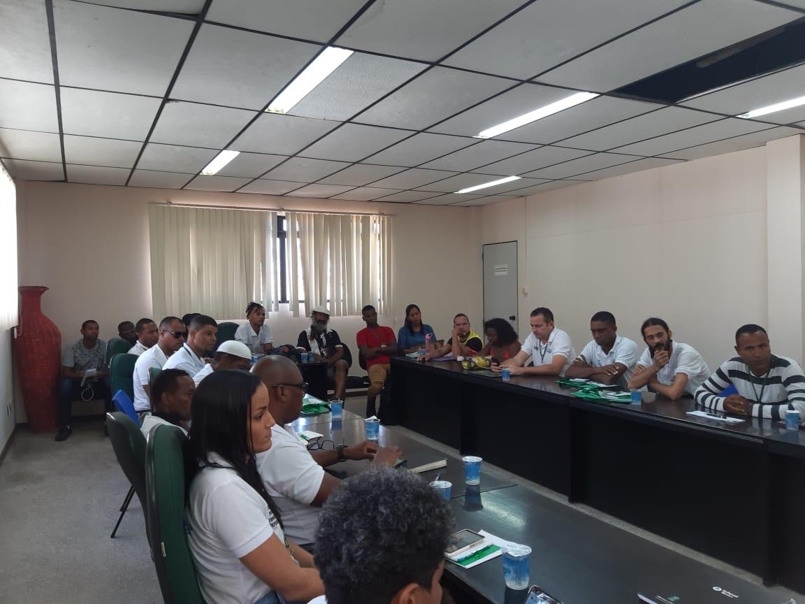 52ª e 81ª Companhias de Polícia Militar participam de reunião para tratar sobre as festas populares de Lauro de Freitas