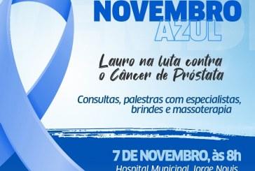 Hospital Jorge Novis abre Novembro Azul com reforço na prevenção ao câncer de próstata