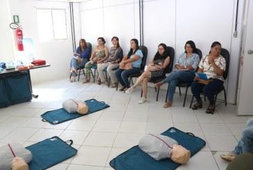 Saúde realiza capacitação de suporte para atendimento de urgência e emergência