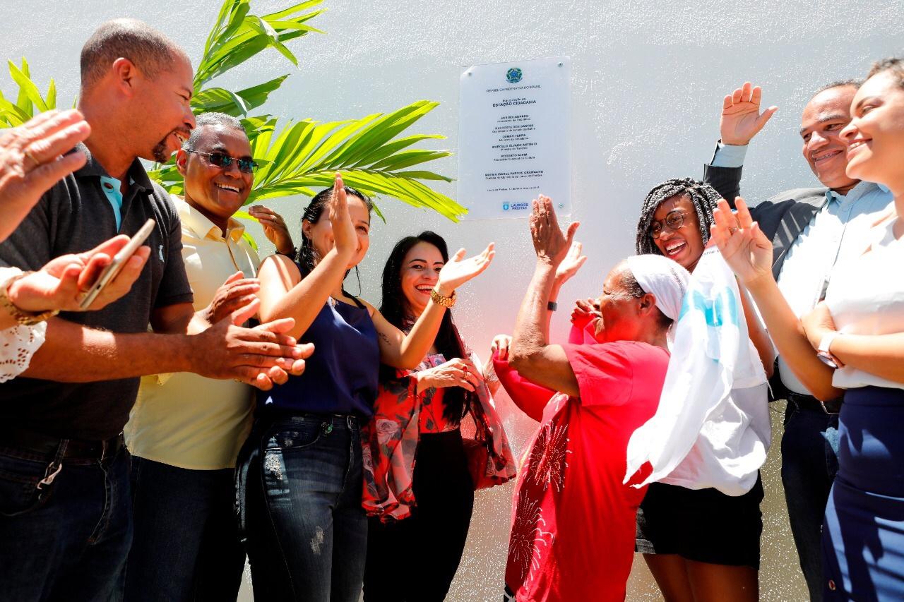 Comunidade do Pouso Alegre comemora inauguração do maior espaço de inclusão social de Lauro de Freitas