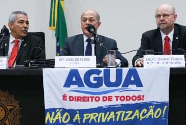 Joseildo condena projeto que escancara privatização do saneamento e rechaça acordo
