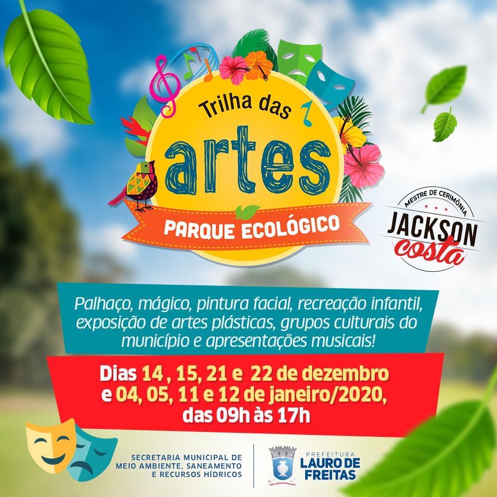 Jackson Costa e Neojibá no Trilha das Artes em Lauro de Freitas
