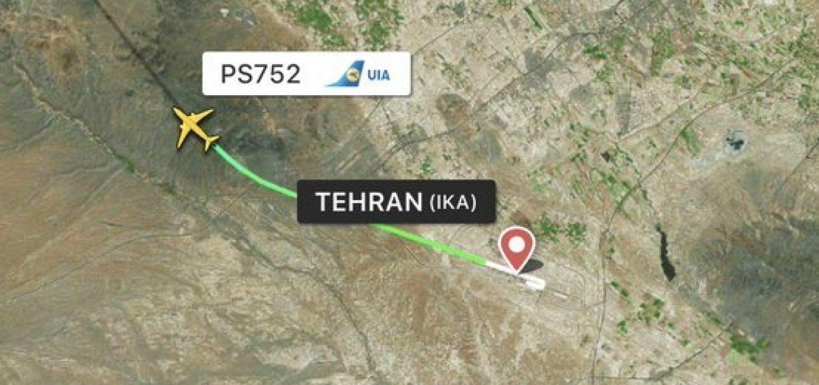 Ucrânia recua e deixa de considerar problema mecânico como causa de queda de avião no Irã
