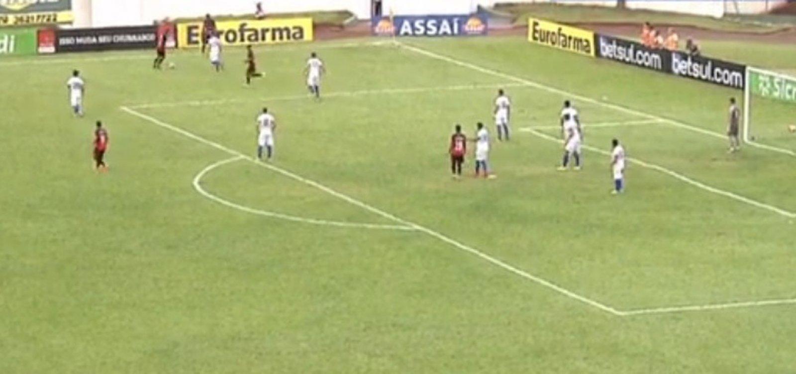 Vitória perde nos pênaltis para o Paraná e é eliminado da Copa São Paulo