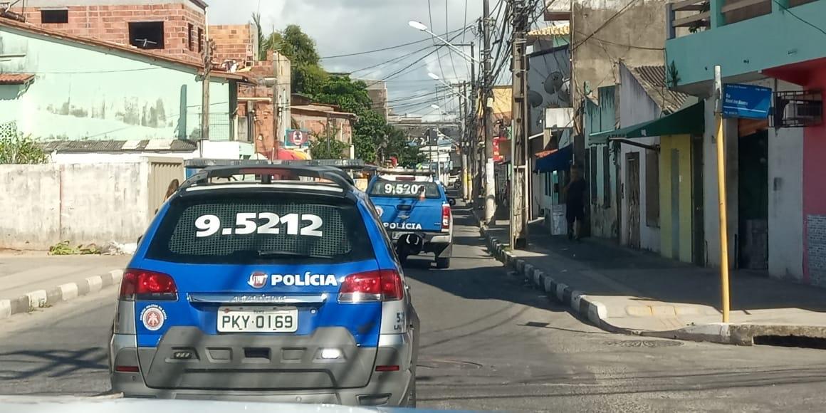 52ª CIPM de Lauro de Freitas realiza operação Bairro Seguro em conjunto com a 59º e 81ª CIPM em Vilas