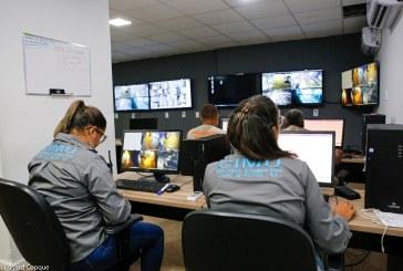 Sistema de videomonitoramento reforça ações de atendimento às ocorrências da chuva em Lauro de Freitas